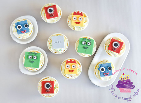 Number Blocks Cupcakes