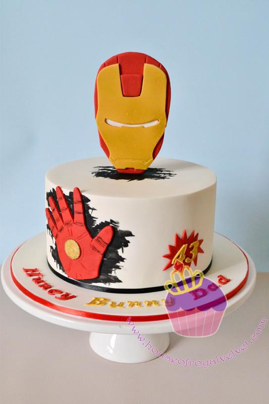 Ironman Cake Perth Cakes Perth WA House of Royal Velvet