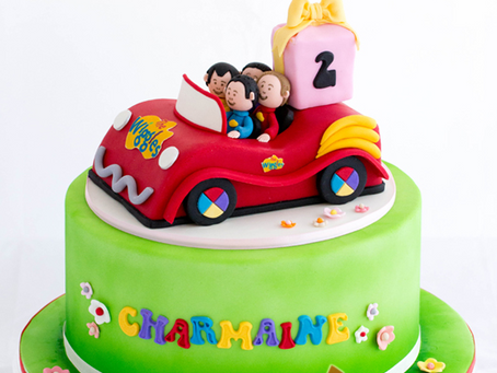 The Wiggles Cake For Charmaine