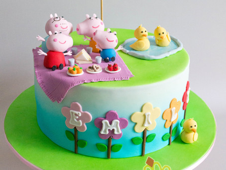 Peppa Pig Cake for Emily