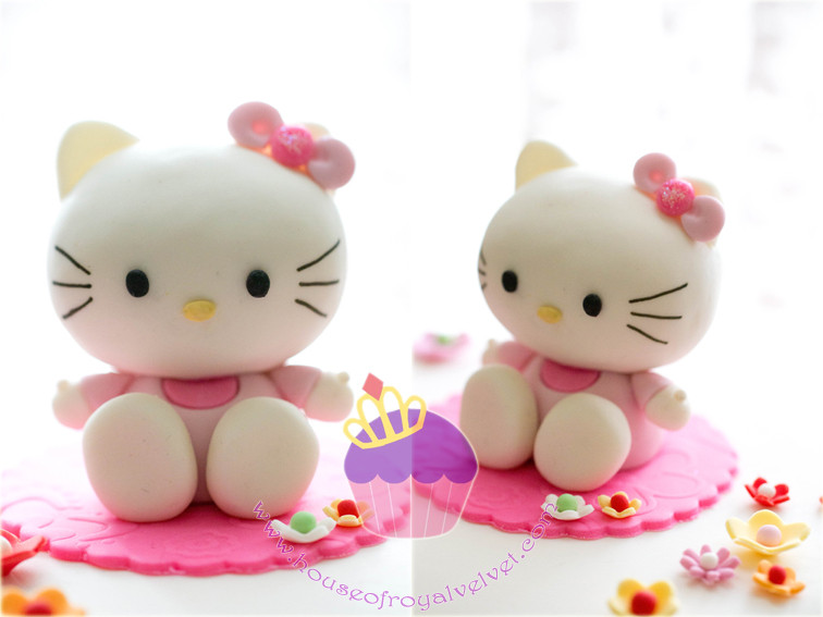 fondant hello kitty
