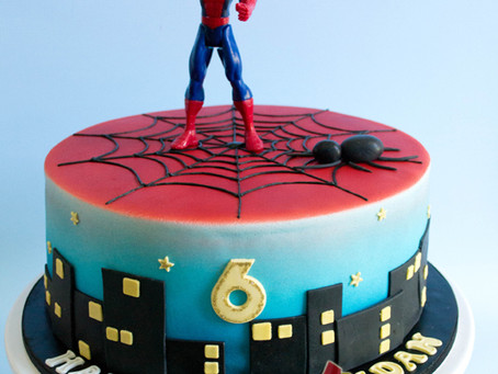 Spiderman Cake for Aidan