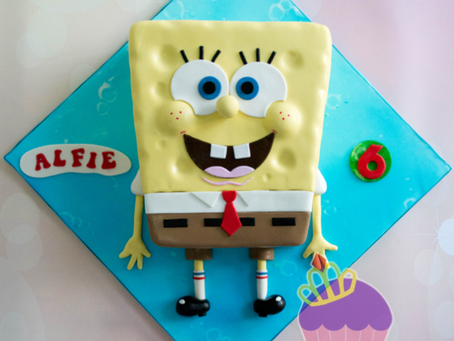 Spongebob Cake for Alfie