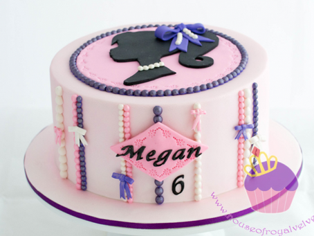 Barbie Silhouette Cake for Megan