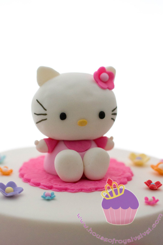 fondant hello kitty