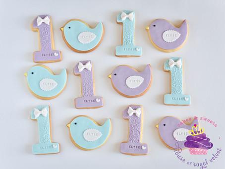 Bird & One Cookies