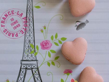 Heart Macarons for Glen & Nadia's Engagement