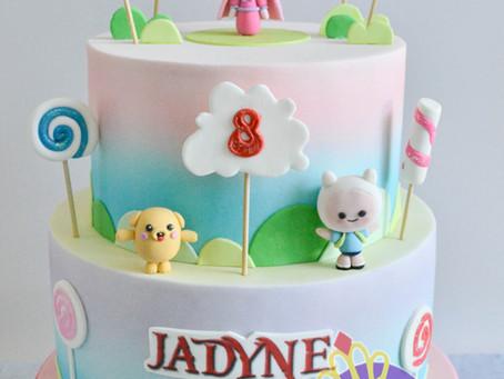 Adventure Time Cake for Jadyne