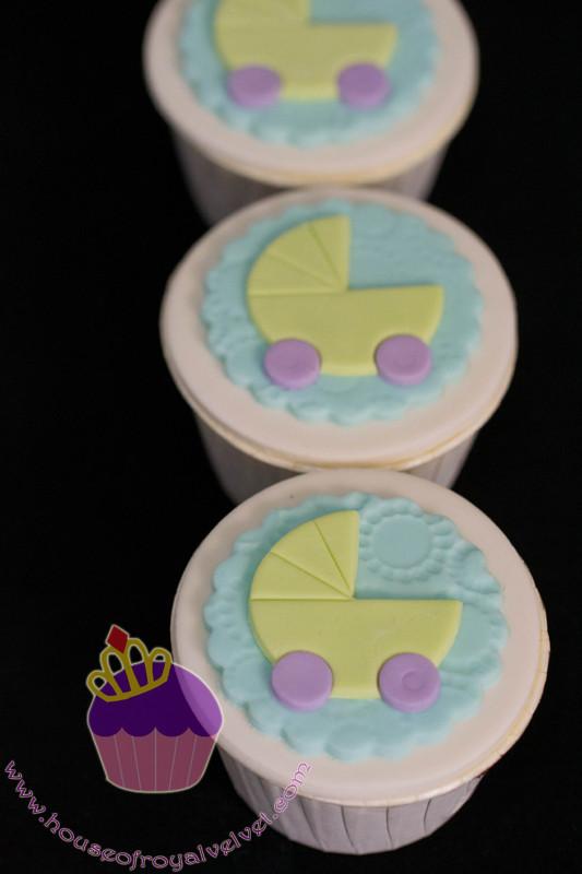 pram cupcakes