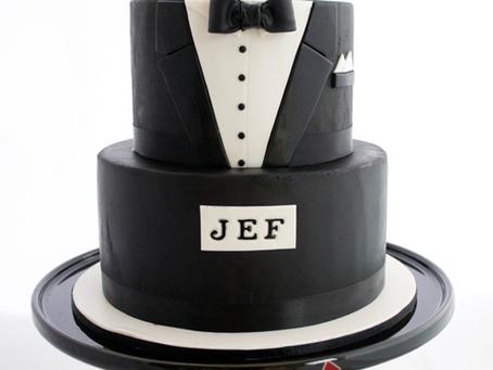 Tuxedo Cake for Jef