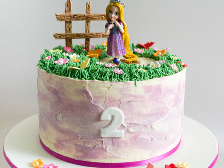 Rapunzel Cake for Audrey