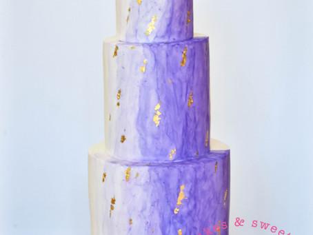 Twinkle Stars Wedding Cake