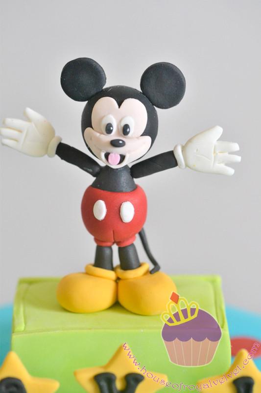 mickey mouse fondant