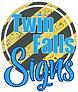 twin falls signs logo _transparent backg