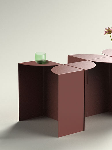 Flower Power coffee table Sans Nom Studio