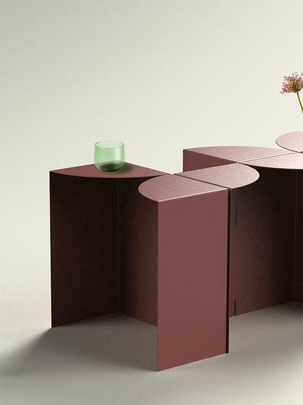 Flower Power Coffee Table / Sans Nom Studio