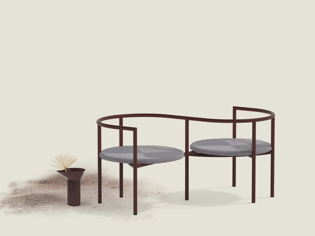 Antipodi outdoor collection giardino di legno / sans nom studio