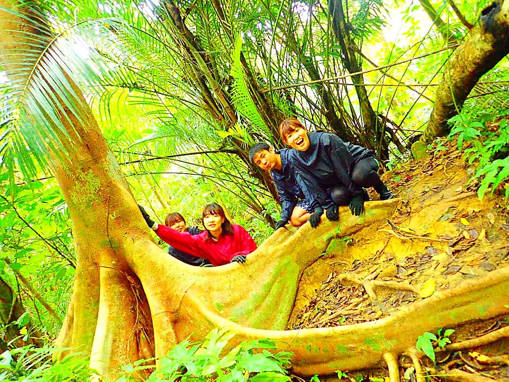 西表・石垣島旅行で西表おすすめカヌーツアー人気のケンガイドがおすすめする秘境パワースポット巡り・女子旅行・学生旅行おすすめ西表アクティビティツアー・カヌーでマングローブ&ジャングル探検トレッキング滝巡り!本物の冒険と感動体験を!
