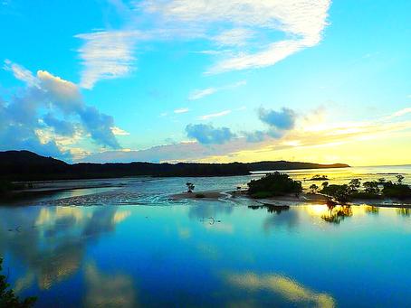 西表島で癒しの島旅を〜🌴☀️朝の風景〜