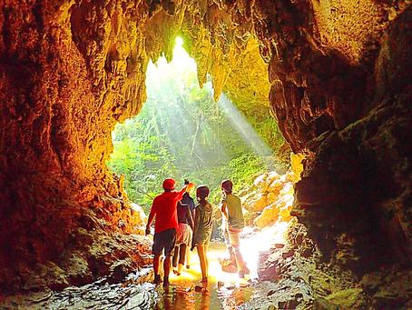 秘境西表島で島旅を楽しもう〜🌴💚ケイビング(鍾乳洞探検)〜🦋