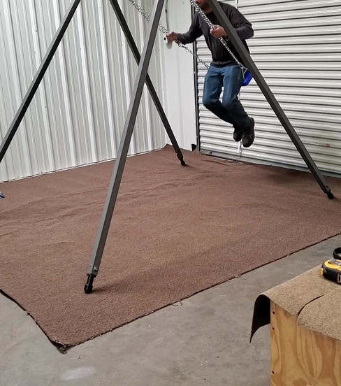 Sturdy built frame for adult use