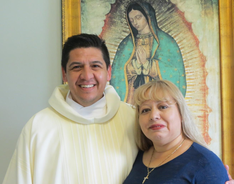 Leonel Segura y su esposa Reyna