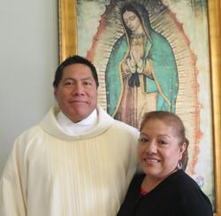 Cornelio Tecruceño y su esposa Reyna