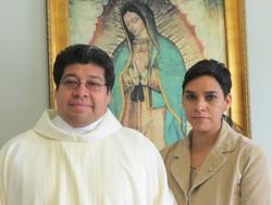 Valdemar Silva y su esposa Guadalupe
