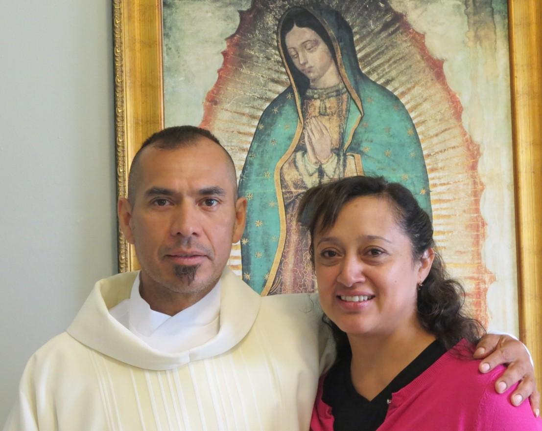 Benito Gallegos y su esposa Martha