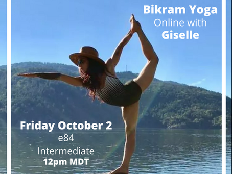 Giselle is back and we are thrilled about the return of one of our favorite visiting teachers!