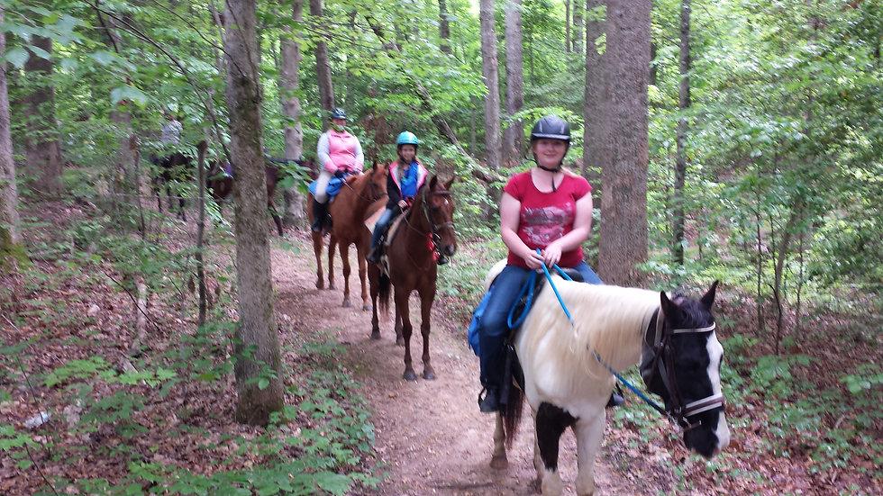 Trail Ride Deposit for Reservation