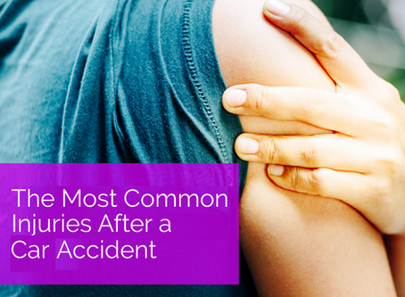 The Most Common Injuries After a Car Accident