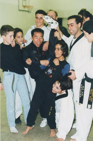 1996-נבחרת ישראל עם קיטו דנג מאמן