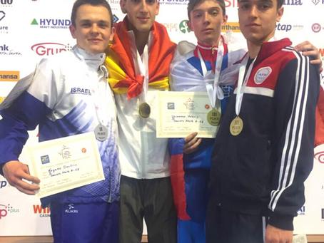 דימה נגאיב, מדליית כסף, אליפות אירופה עד גיל 21 בולגריה 2017