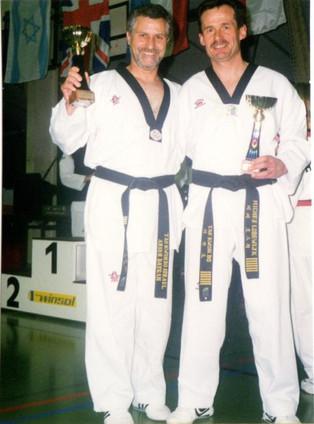 1999-אריה בייגן סגן אלוף דנמרק טכני