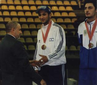1998-לואיק ללום מדליית ארד באליפות אירופה