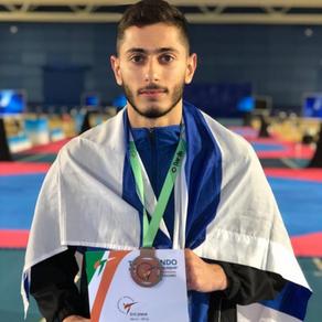 נמרוד קרביצקי, מדליית ארד. אליפות אירופה אירלנד 2019
