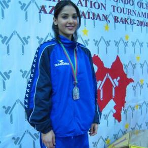 מאיה ערוסי, מדליית כסף, אליפות אירופה אולימפית אזרבייג'ן 2004