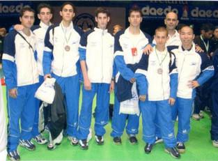 2000-מקסים לרנר ותם חובב מדליות ארד
