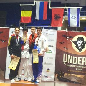 אדי שרבנסקו, מדליית ארד, אליפות אירופה עד גיל 21, רומניה 2015