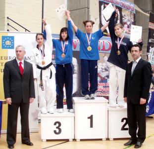 2007-סתיו סברו מדלית זהב אליפות ספרד