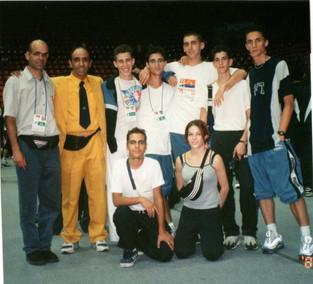 1998-משלחת ישראל באליפות העולם בטורקיה