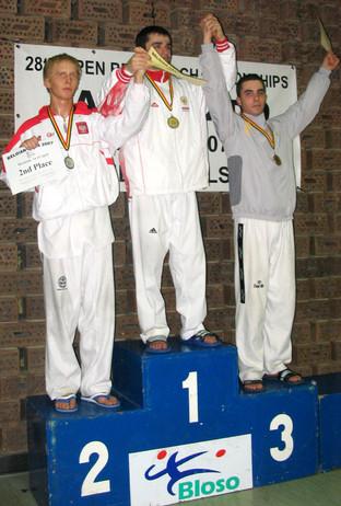 2007-יוני בן אהרון מדלית ארד אליפות בלגיה