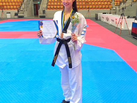 אבישג סמברג, מדליית ארד, אליפות אירופה לנוער קפריסין 2017