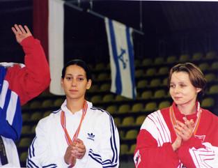 1998-אליה מדר מדליית ארד באליפות אירופה
