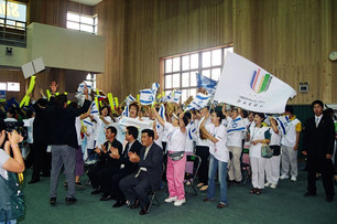 2003-אוהדים סינים לישראל באוניברסיאדה