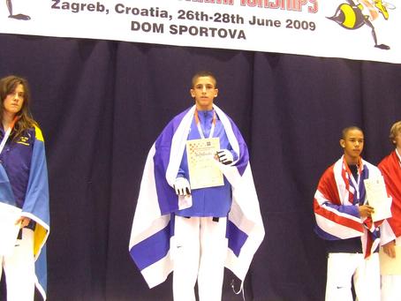 רון אטיאס, מדליית זהב, אליפות אירופה קרואטיה 2009