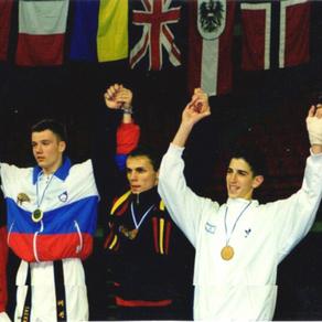 טל מוריה, מדליית ארד, אליפות אירופה קפריסין 1999
