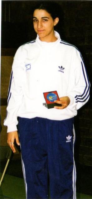 2000-כרמית איצחקיאן מדליית כסף
