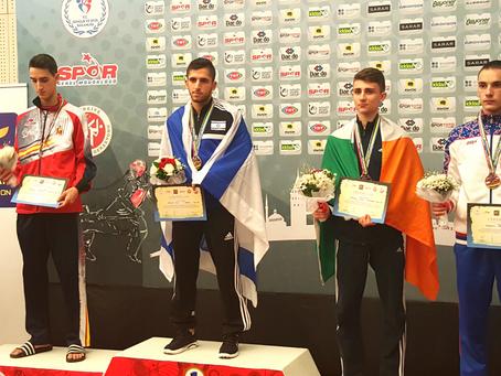 רון אטיאס, מדליית זהב, אליפות אירופה אולימפית, טורקיה 2016
